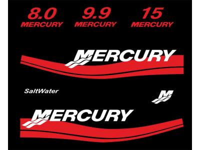 логотип на лодочный мотор меркурий