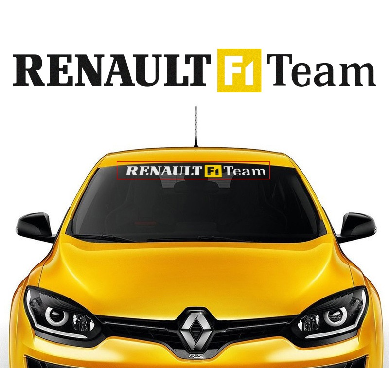 renault f1 team sticker. Black Bedroom Furniture Sets. Home Design Ideas