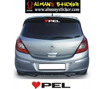 ,Opel Kalp Sticker,Opel Sticker,astra sticker,oto sticker
