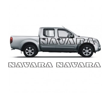 Nissan Navara Sticker