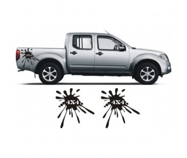 Nissan Navara Off Road Sticker Set