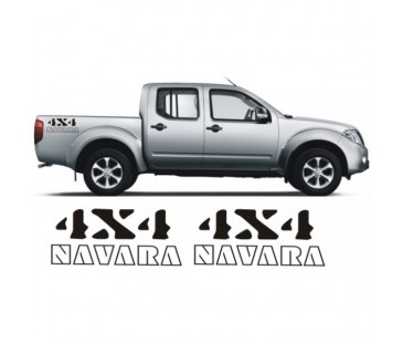 Nissan Navara 4x4 Sticker Set
