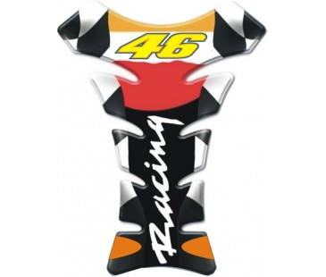 46 Racing tank pad,damla sticker,motosiklet sticker,kabartmalı sticker,pad