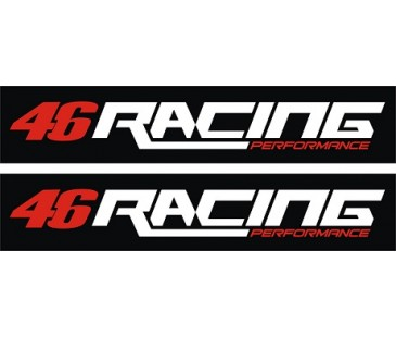 46 racing sticker,motosiklet sticker