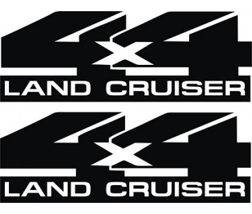 4X4 Land cruiser sticker,jeep Sticker
