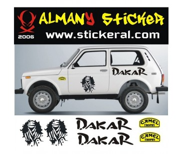 Lada Niva Sticker Set-2