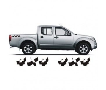 Navara 4x4 Sticker Set
