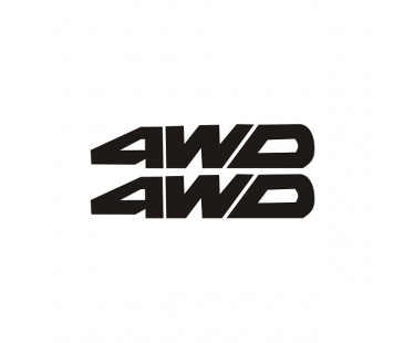 4wd Sticker Set,