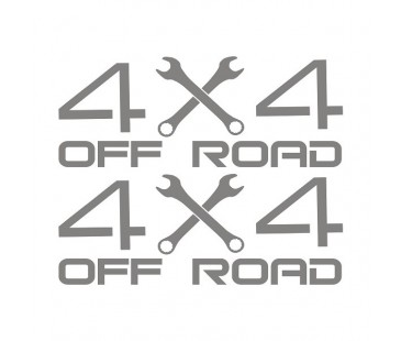 4x4 Jeep Sticker-2,