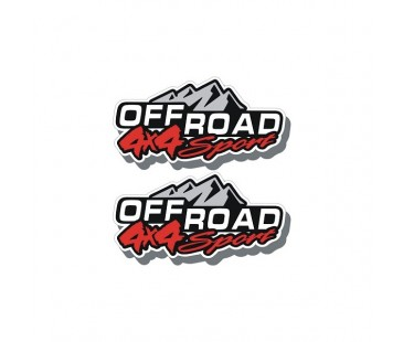 4x4 Off Road Kapı Sticker,