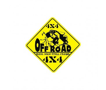 4x4 Off Road Sticker,