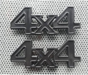 4x4 plastik siyah arma,logo,amblem,jeep off road sticker