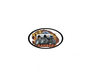 4x4 Ranger Sticker,