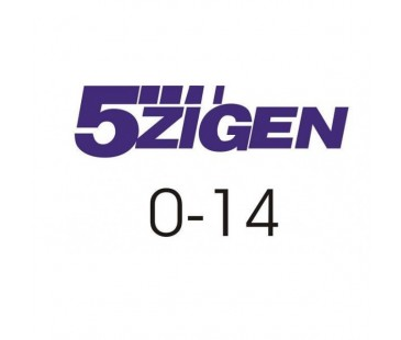 5 Zigen Sticker,