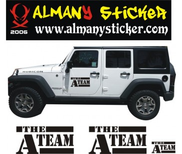 A takımı Sticker Set,jeep sticker