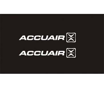 Accuair sticker,Kelebek camı sticker