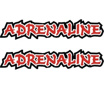 Adrenalin Sticker