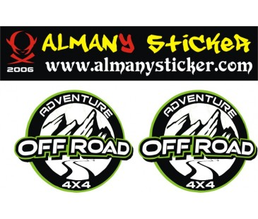 Adventure Off Road Sticker