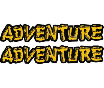 Adventure sticker-2,off road sticker