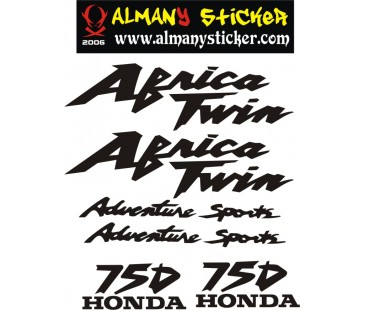 Africa Twin 750 Sticker Set,africa twin sticker,motosiklet sticker