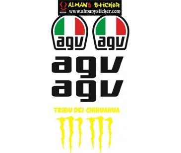 Agv Sticker