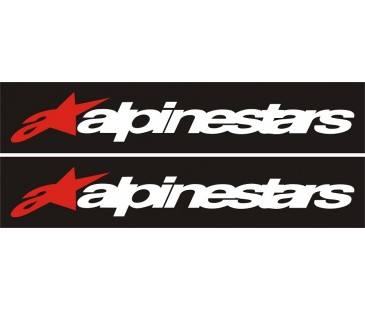 Alpinestars sticker,motosiklet sticker,honda sticker