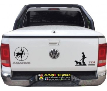 Amarok sticker,avcı sticker,off road sticker