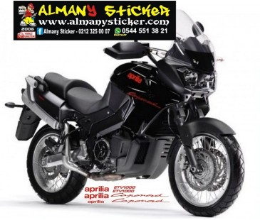 Aprilia Capanord Etv 1000 Sticker Set