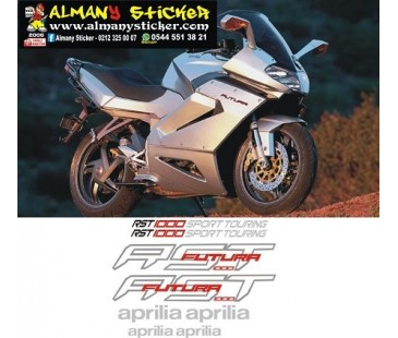 Aprilia rst1000 sticker set,motosiklet sticker