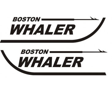 BOSTON WHALER STİCKER