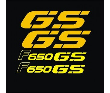 Bmw F650 GS sticker set