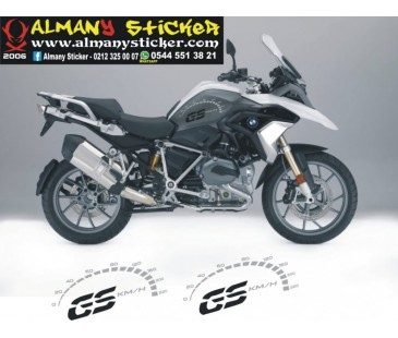 Bmw Gs devir saati sticker,bmw sticker,motosiklet sticker,gaga sticker,özel yapım sticker