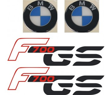 Bmw f700 sticker set,motosiklet sticker
