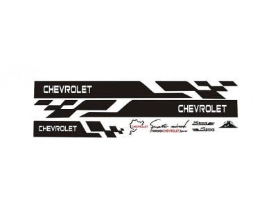 CHEVROLET STİCKER, SET,OTO STİCKER