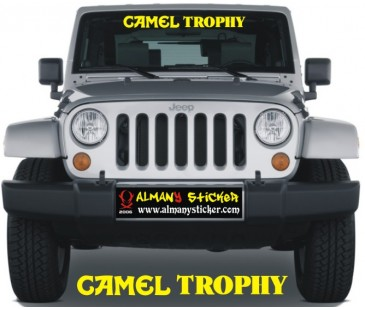 Camel Trophy Ön Cam Sticker,jeep Sticker