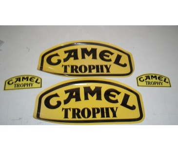 Camel Trophy Sticker Set