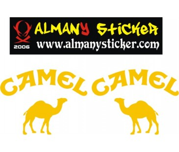 Camel Trophy Sticker