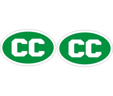 Cc Konsolosluk plaka sticker,oto sticker