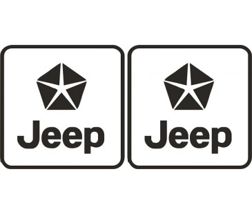 Chrysler jeep sticker,
