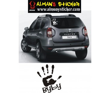 Dacia Duster by by sticker