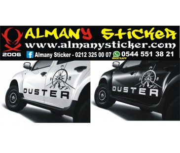 Dacia Duster sticker,oto jeep sticker,oto sticker
