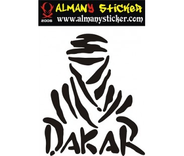 Dakar sticker,