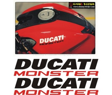 Ducati Monster Depo Sticker