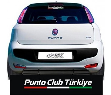FİAT PUNTO CLUB STİCKER