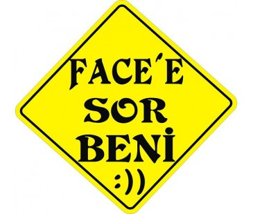 Face Ye Sor Beni Sticker,oto sticker