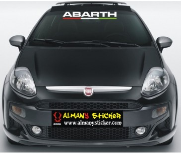 Fiat Punto sticker,abarth sticker