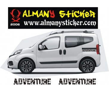 Fiat fiorino adventure (maceracı) sticker-3