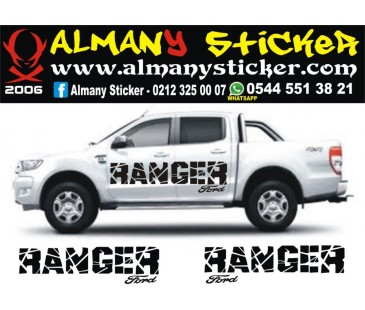 Ford Ranger Sticker-58
