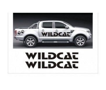 Ford Ranger Wildcat Sticker (yaban kedisi)