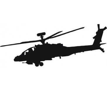 Skorsky helikopter sticker
